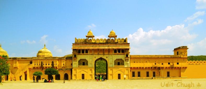 Jaipur- Sun gate, Amber Fort