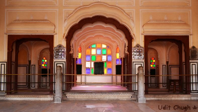 Jaipur, hawa mahal-2